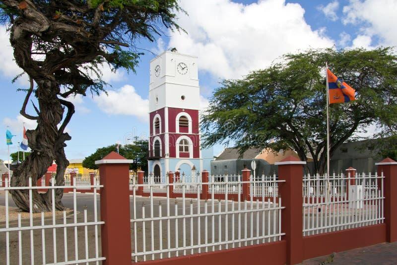 Iglesia en Oranjestad imagen de archivo