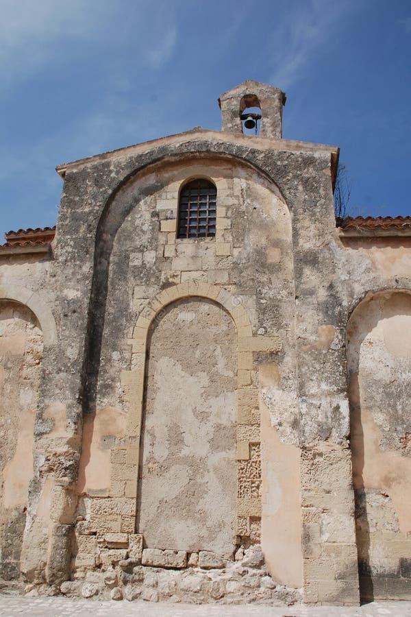 Iglesia en Otranto imágenes de archivo libres de regalías