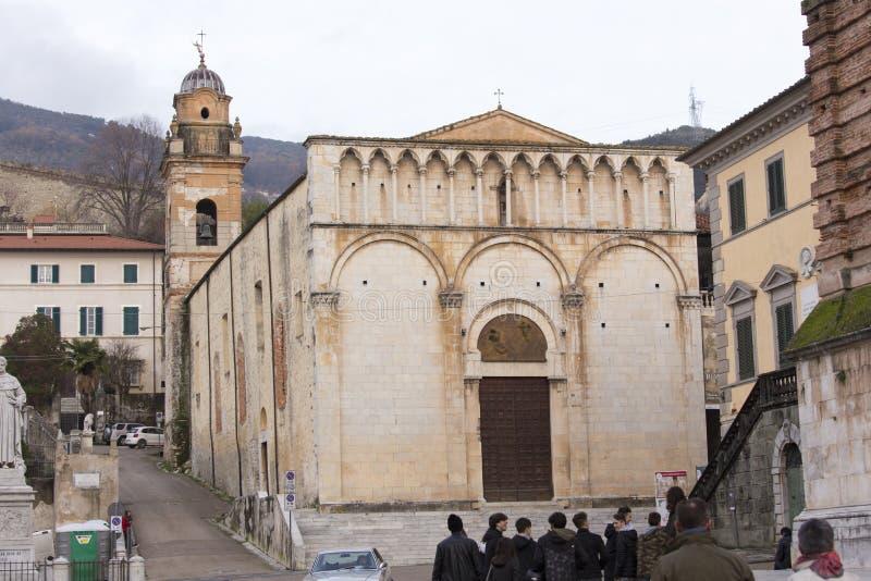 Iglesia en Pietrasanta fotos de archivo libres de regalías
