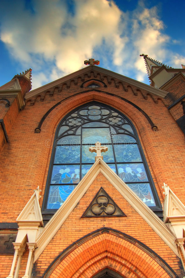 Iglesia en Pittsburgh foto de archivo