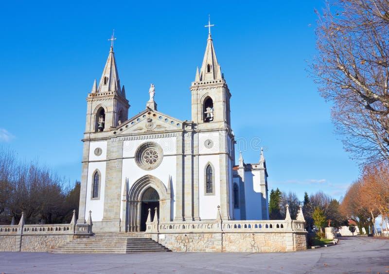 Iglesia en Portugal fotografía de archivo
