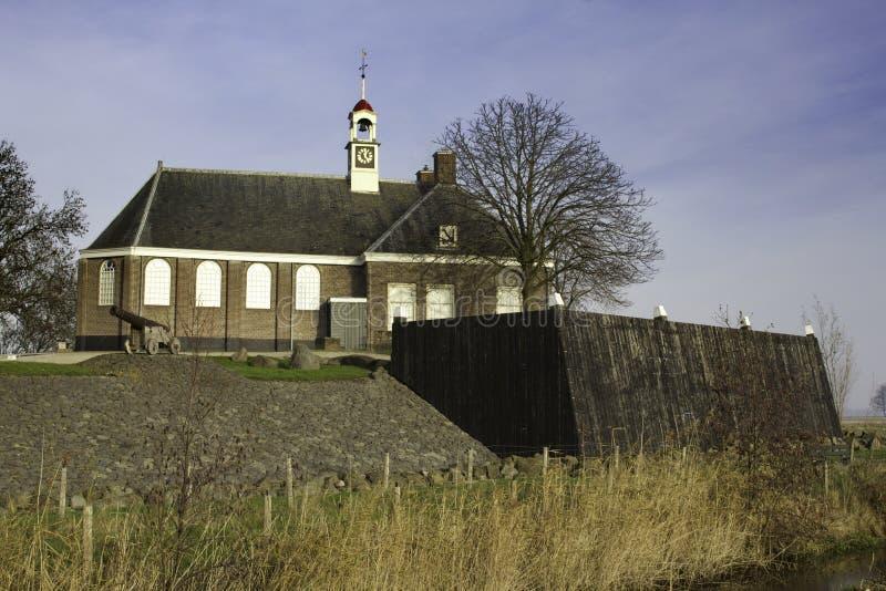 Iglesia en Schokland fotos de archivo