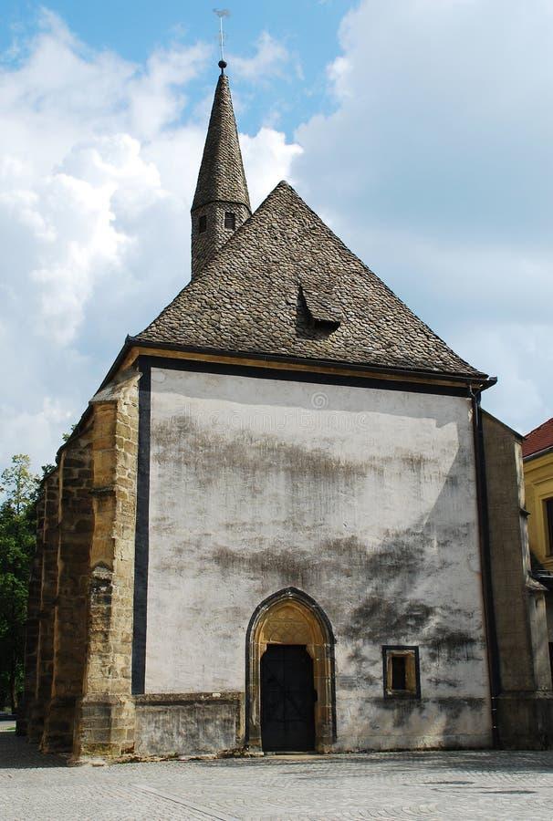 Iglesia en Slovenj Gradec foto de archivo libre de regalías