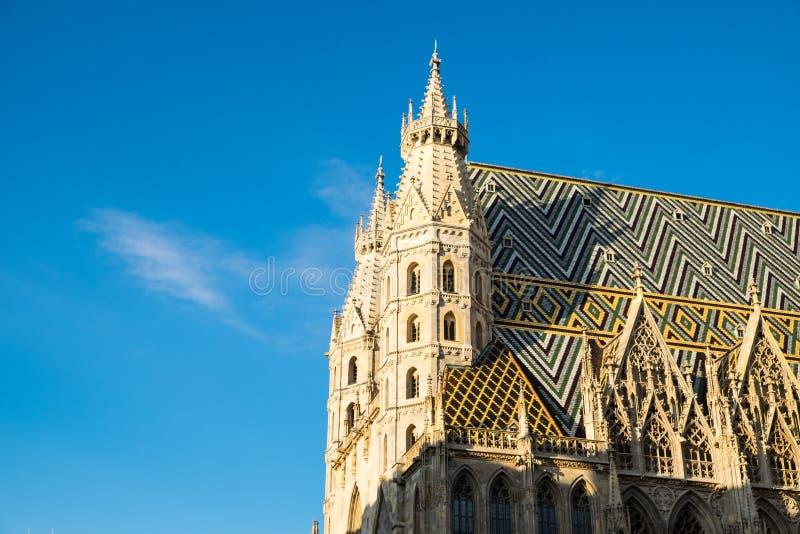 Iglesia en Viena en el verano foto de archivo