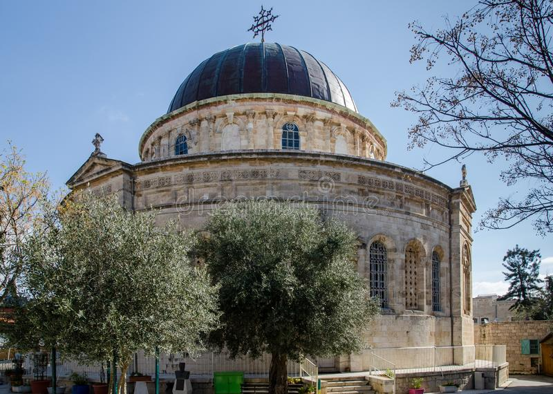 Iglesia etíope en Jerusalén Israel fotos de archivo libres de regalías