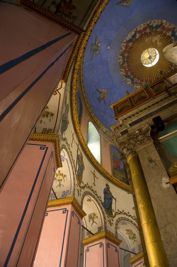 Iglesia etíope, Jerusalén imagen de archivo libre de regalías
