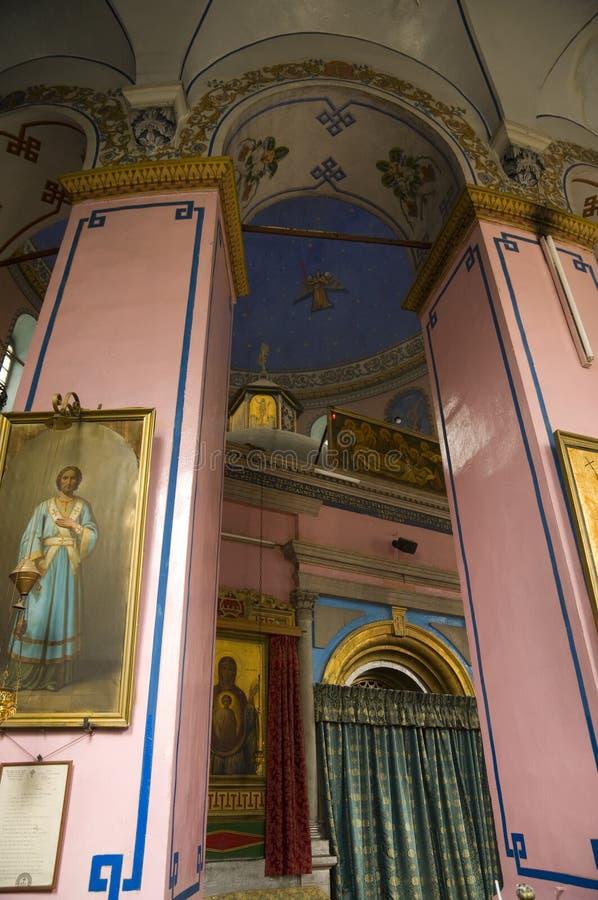 Iglesia etíope, Jerusalén fotografía de archivo libre de regalías
