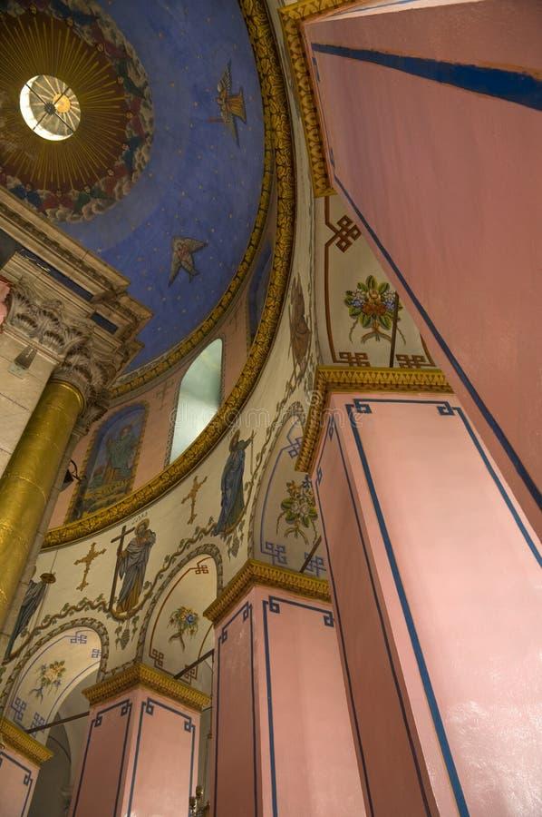 Iglesia etíope, Jerusalén imagen de archivo
