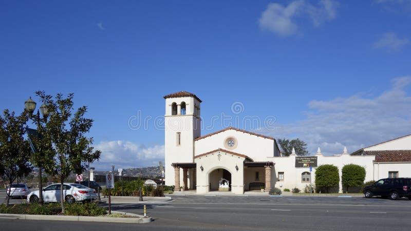 Iglesia evangélica, Camarillo, CA imágenes de archivo libres de regalías