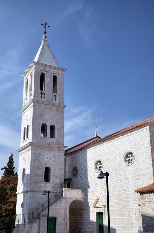 Iglesia franciscana. Shibenik (Sibenik) fotos de archivo libres de regalías