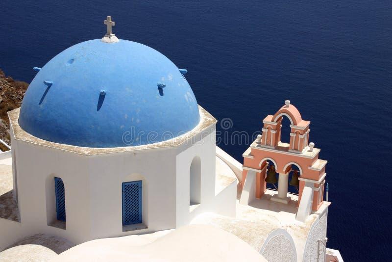 Iglesia griega imágenes de archivo libres de regalías
