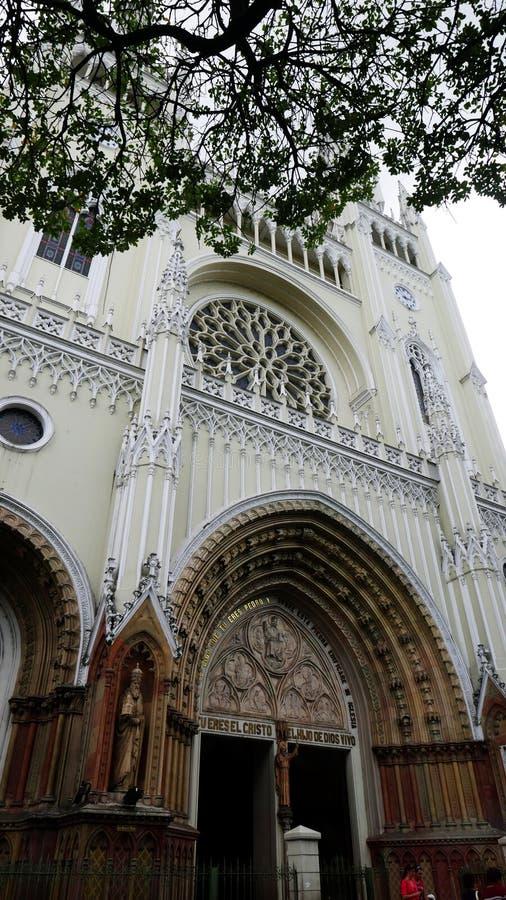Iglesia Guayaquil, Ecuador de Merced del La imágenes de archivo libres de regalías