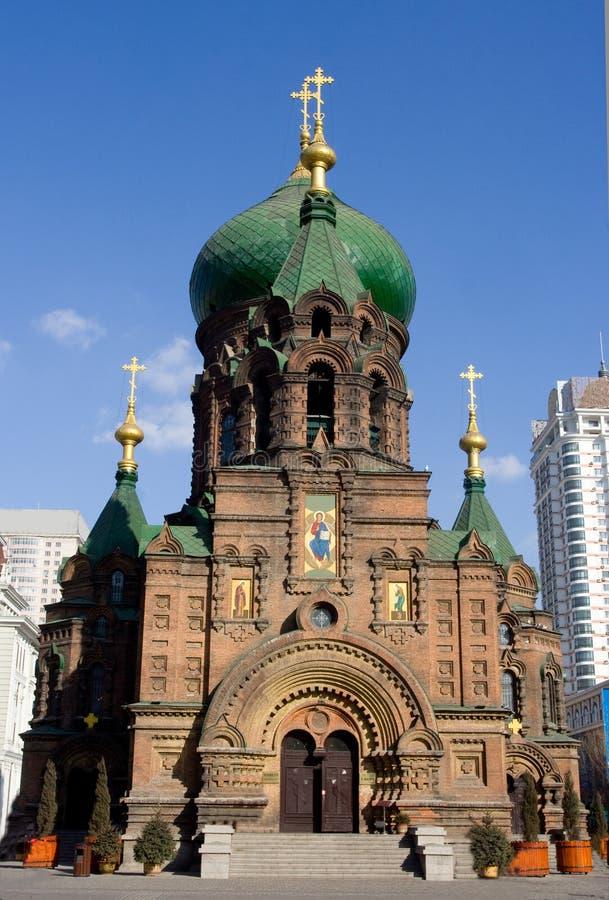 Iglesia Harbin del St. Sophia fotos de archivo libres de regalías