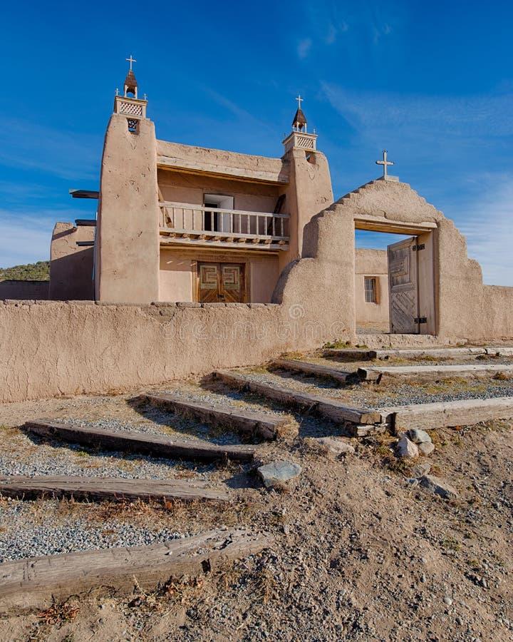 Iglesia histórica de Las Trampas foto de archivo