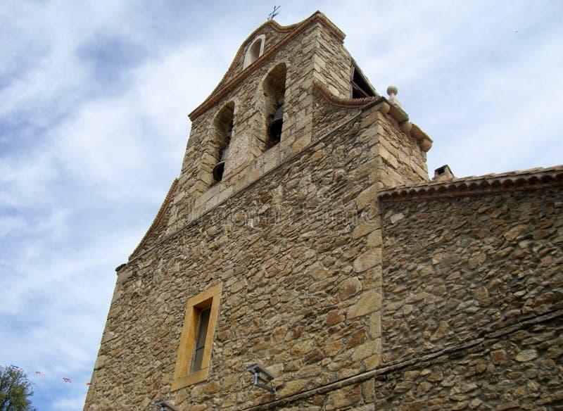 Iglesia Horcajuelo imagem de stock royalty free