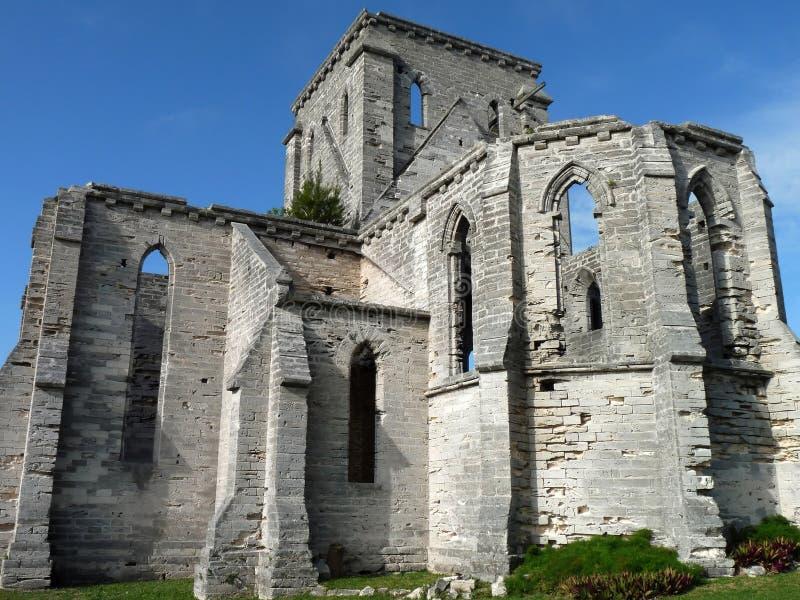 Iglesia inacabada fotografía de archivo