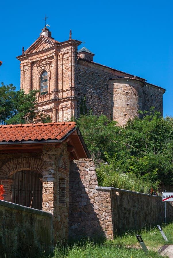 Iglesia italiana vieja fotos de archivo