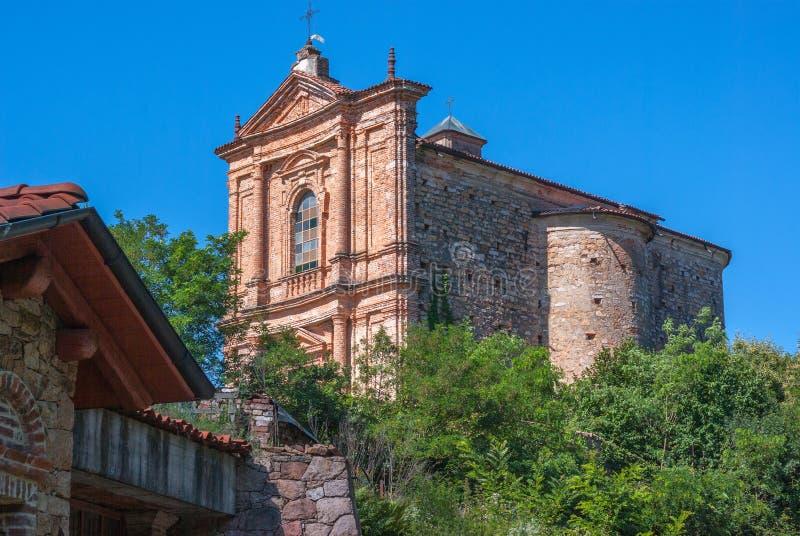 Iglesia italiana vieja foto de archivo libre de regalías