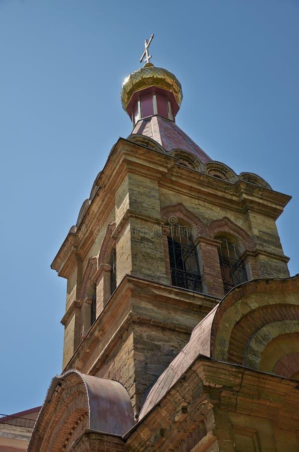 Iglesia, Kherson, Ucrania imagen de archivo