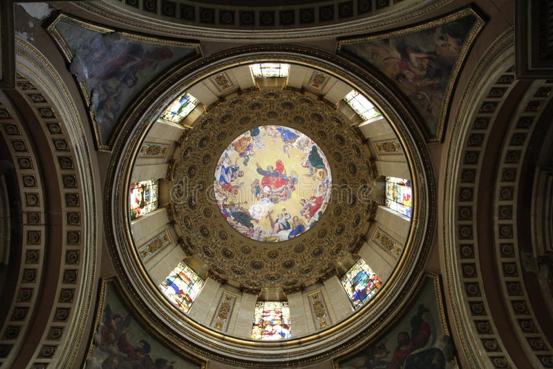 Iglesia latinoamericana fotos de archivo libres de regalías