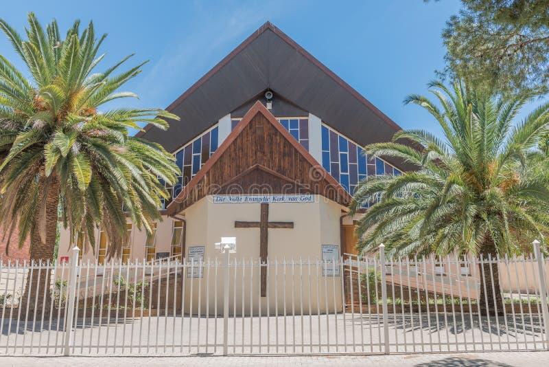 Iglesia llena del evangelio de dios en Hilton imagen de archivo libre de regalías