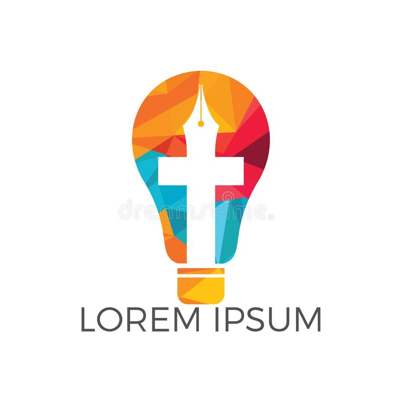 Iglesia Logo Design El ministerio Logo Design de la iglesia libre illustration