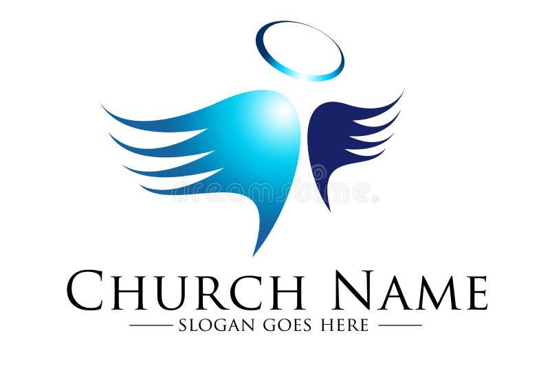 Iglesia Loogo ilustración del vector