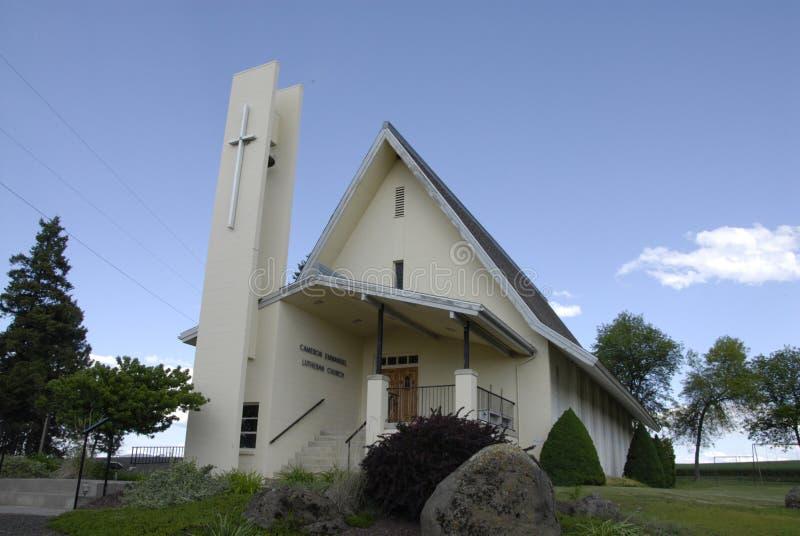 Iglesia luthern de Cameron Emmanuel fotografía de archivo