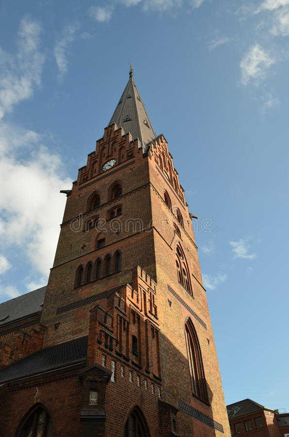Iglesia Malmö de San Pedro fotos de archivo libres de regalías