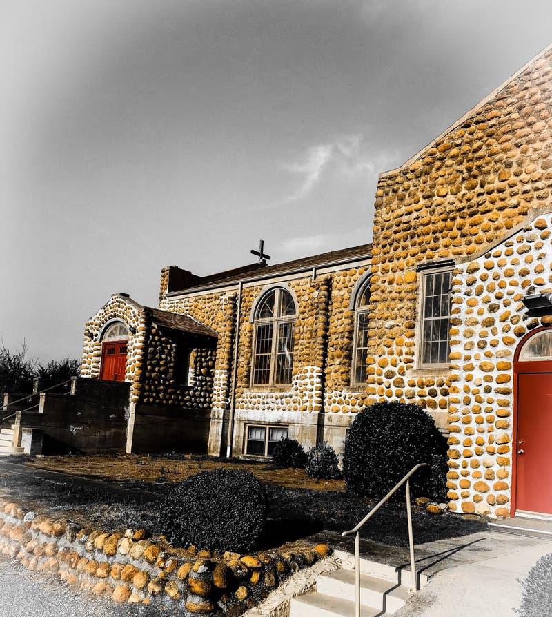 Iglesia metodista imagen de archivo libre de regalías