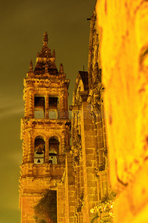 Iglesia Morelia, México fotos de archivo