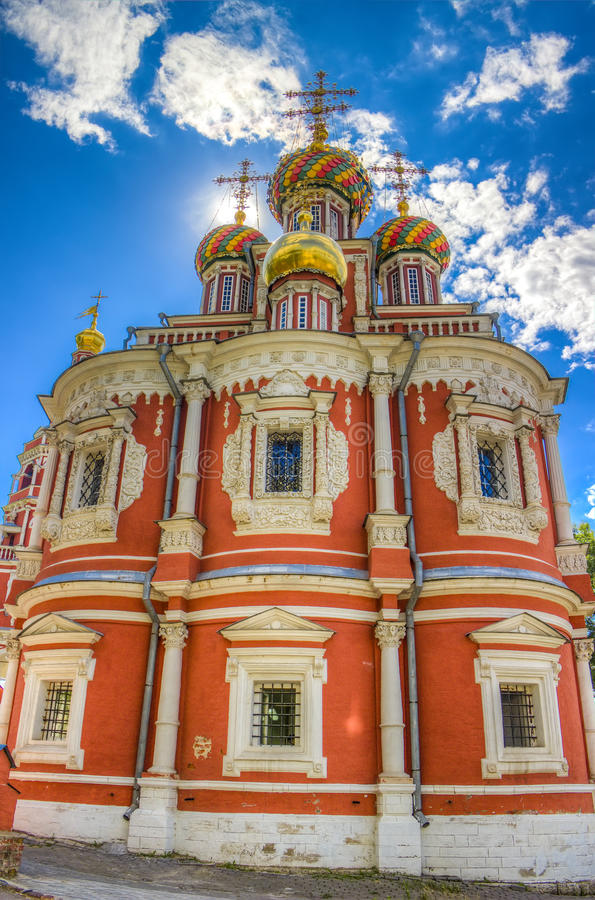 Iglesia Nizhny Novgorod Rusia de Stroganov fotografía de archivo