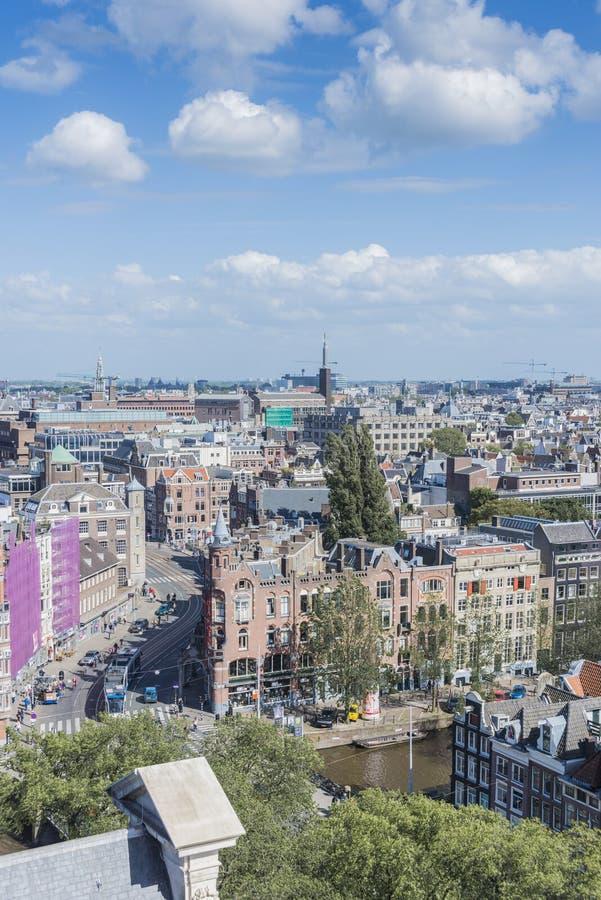 Iglesia occidental en Amsterdam, Países Bajos imágenes de archivo libres de regalías