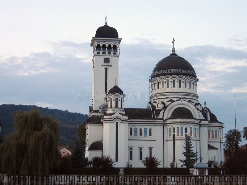 Iglesia ortodoxa de Sighisoara - Rumania fotografía de archivo libre de regalías