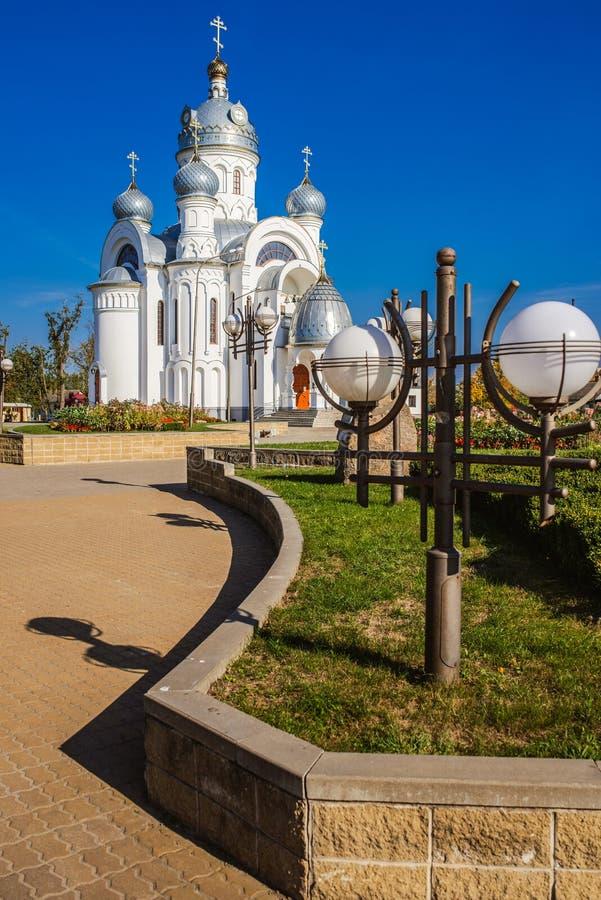 Iglesia ortodoxa del arcángel Michael foto de archivo