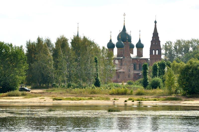 Iglesia ortodoxa del arcángel Michael, Yaroslavl Rusia fotografía de archivo