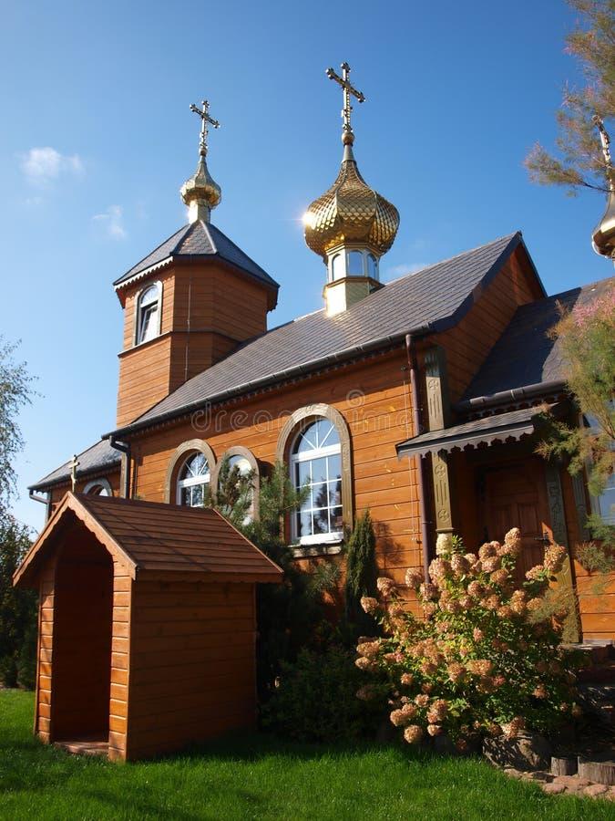 Iglesia ortodoxa del este oty del 'de KostomÅ, Polonia foto de archivo libre de regalías