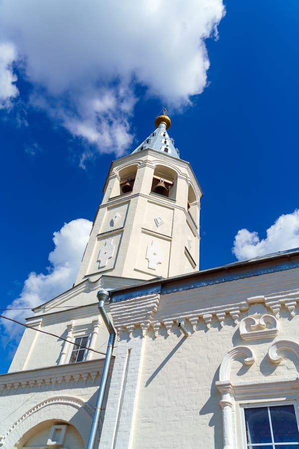 Iglesia ortodoxa del siglo XVIII en el estilo barroco, Venev, Tul fotos de archivo