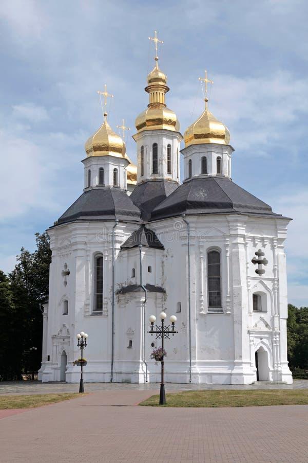Iglesia ortodoxa en Chernigiv, Ucrania foto de archivo