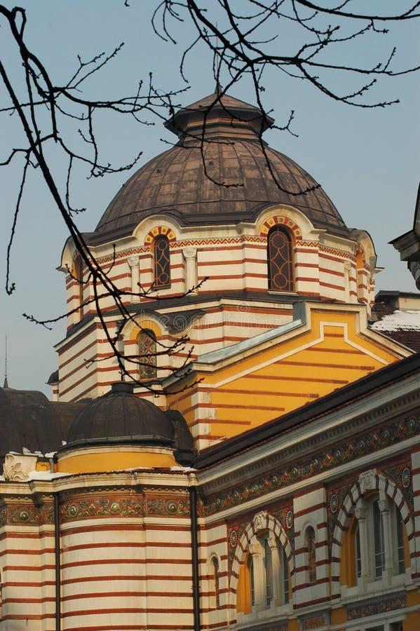 Iglesia ortodoxa en Sofía fotografía de archivo libre de regalías
