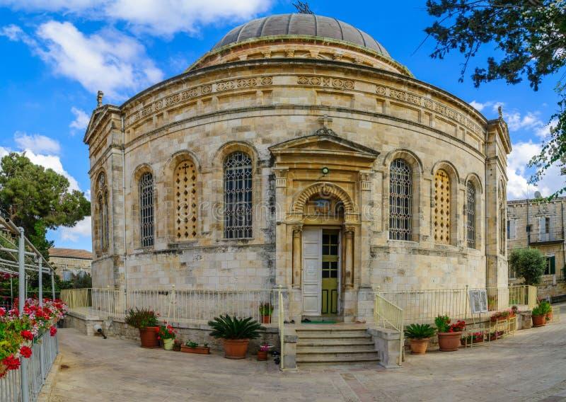 Iglesia ortodoxa etíope de Tewahedo, Jerusalén fotografía de archivo libre de regalías