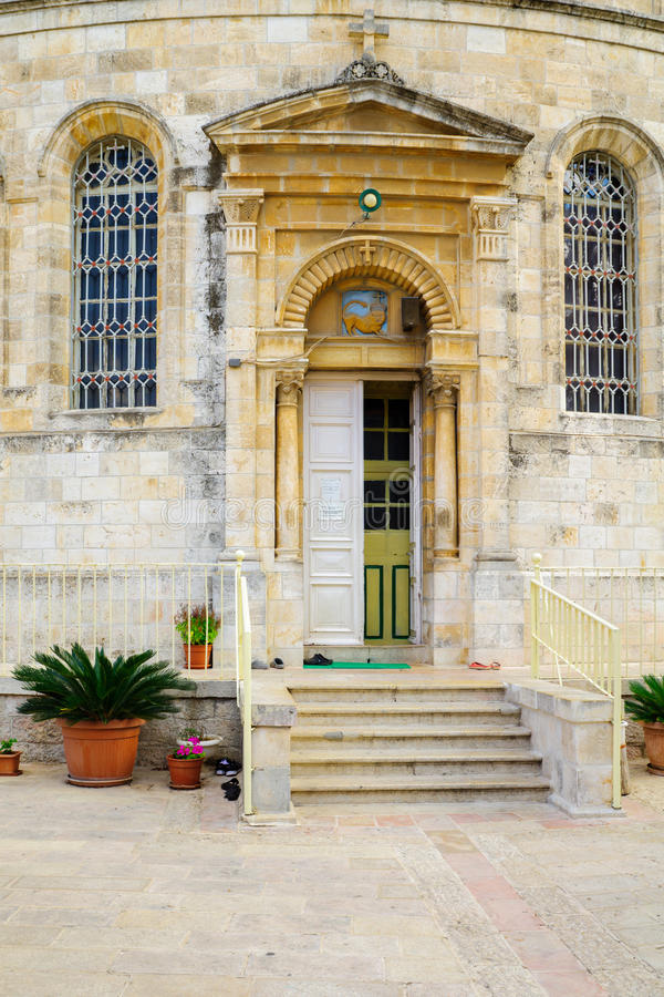 Iglesia ortodoxa etíope de Tewahedo, Jerusalén fotos de archivo libres de regalías
