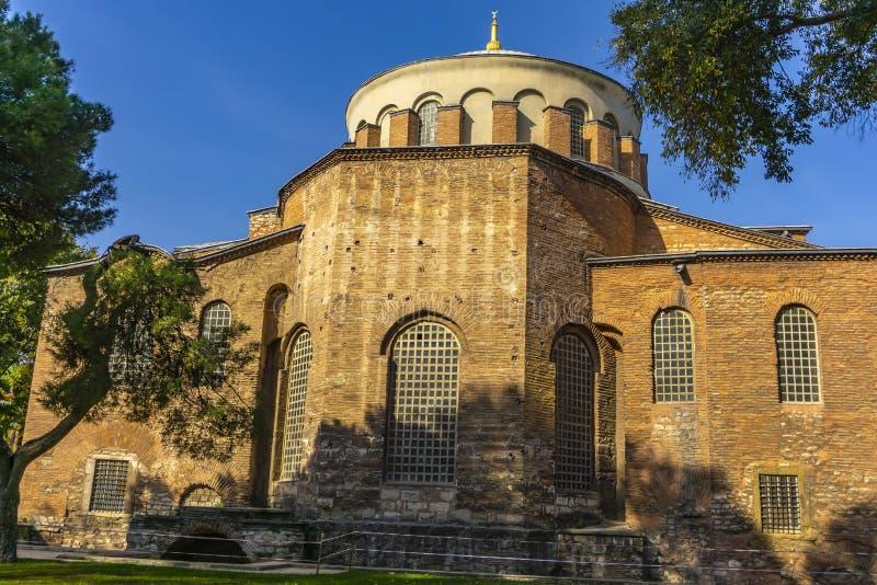 Iglesia ortodoxa griega Hagia Irene en Estambul, Turquía fotos de archivo libres de regalías