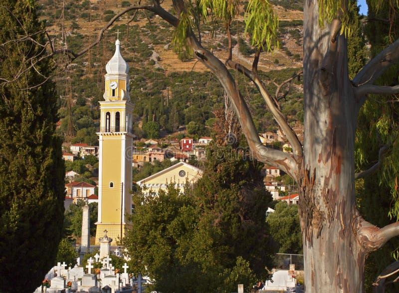 Iglesia ortodoxa griega tradicional fotos de archivo libres de regalías