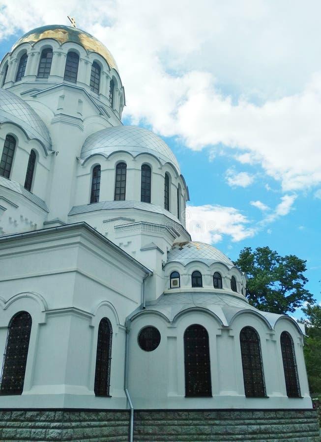 Iglesia ortodoxa, Kamenets-Podolsky, Ucrania imágenes de archivo libres de regalías