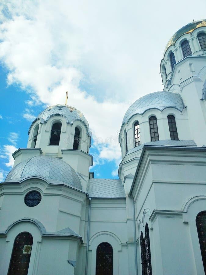 Iglesia ortodoxa, Kamenets-Podolsky, Ucrania fotos de archivo