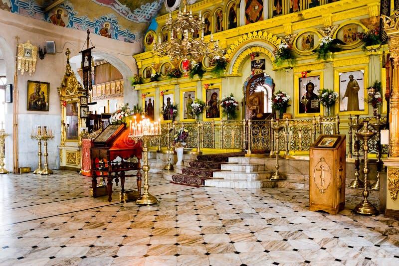 Iglesia Ortodoxa Rusa Imagenes de archivo