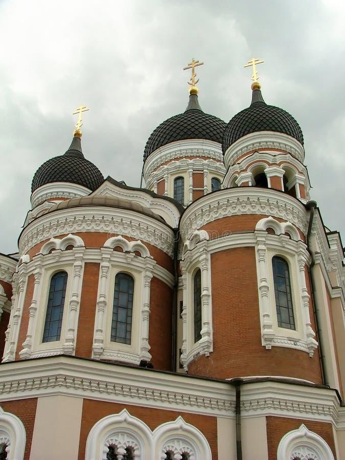 Iglesia ortodoxa rusa foto de archivo