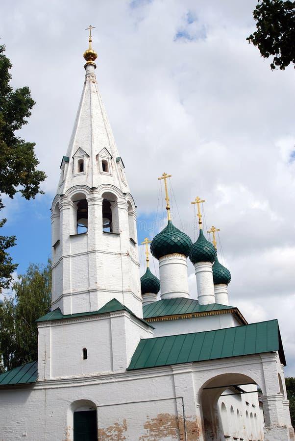 Iglesia ortodoxa rusa vieja fotografía de archivo libre de regalías