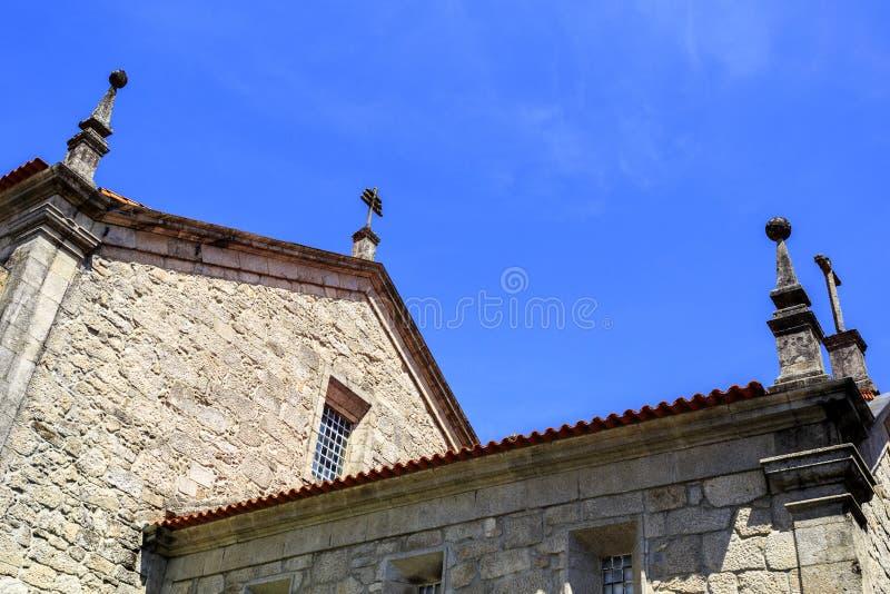 Iglesia parroquial de Castro Daire fotos de archivo